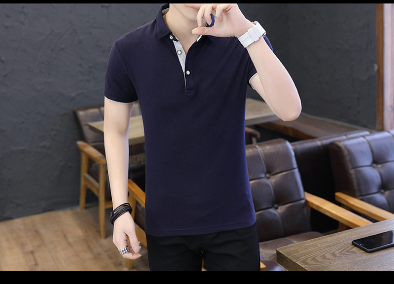 SD Polo Shirts Men 2018 New Arrivals Casual Male Polo Shirts Breathable Cotton Tops High Quality Solid camisa Polos Homme 413 24
