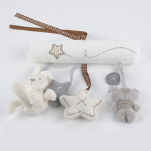 New arrival mamas&papas cot hanging toy baby rattle toy soft plush rabbit musical mobile products baby gift Hot New