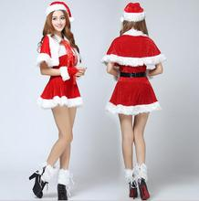 Sexy Adult Women Christmas Costume Sweetheart Miss Santa Dress
