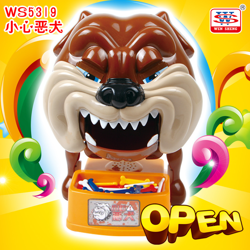 New Strange Trick Wacky Cavecanem Desktop Game Funny family Party Electric Sound Dog Creative Parent-child Interactive Toys<br>
