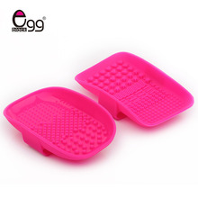 Silicone Makeup Brush Cleaning Mat Washing Tools Hand Tool Pad Sucker Scrubber Board Washing Cosmetic Brush Cleaner Tools(China)