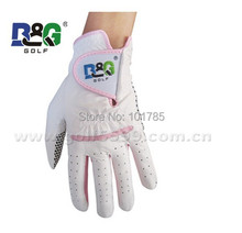 hot sale high quality Colorful Cabretta Golf Gloves free shipping(China)