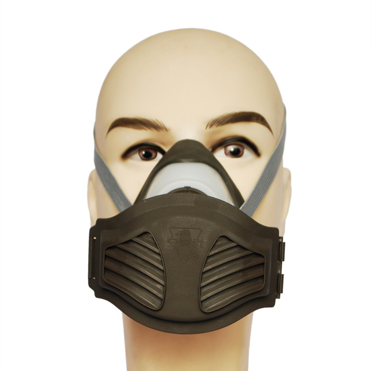 respirator dust mask PM2.5 gray Filter cotton dust mask Silicone dust The smoke N95 industrial safety respirator mask<br><br>Aliexpress