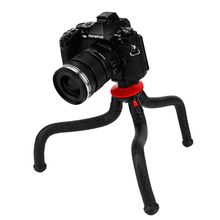 Ulanzi Mini Flexible Octopus Mobile Tripod With Phone Holder Adapter for iPhone Samsung Xiaomi Huawei Smartphone Phonegraphy