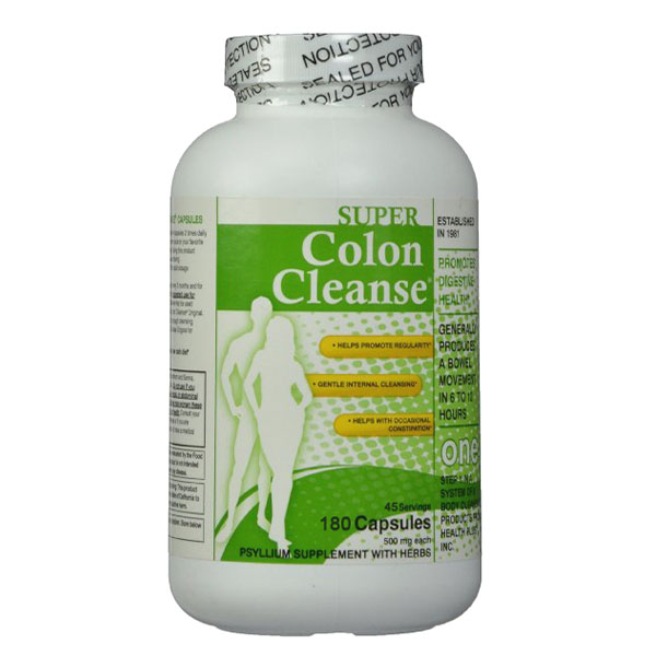 Super Colon Cleanse, 500mg, 180 capsules Free shipping<br><br>Aliexpress