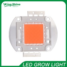 Bridgelux 3W led chip cob full spectrum 380-840nm 120W DIY led grow light chip for growth and bloom free shipping(China)