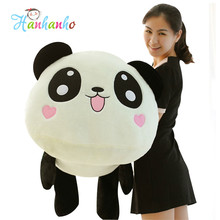 Adorable Giant Panda Plush Toy Stuffed Animal Doll Children Cartoon Cushion Lovely Kid Pillow