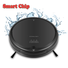 LIECTROUX Q7000 Robot Vacuum Cleaner,Gyroscope Navigation,Zigzag Planned,Virtual Blocker,UV Lamp,Water Tank,Lithium-ion Battery(China)