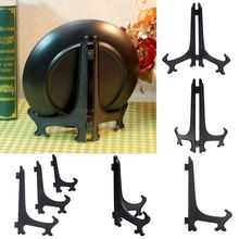 "3""5""7""9"" Display Easel Stand Plate Bowl Picture Frame Photo Pedestal Holder"