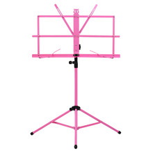 Music Tripod Stand Holder  with Water-resistant Carry Bag for Violin Piano Guitar Instrument Lightweight Foldable Sheet