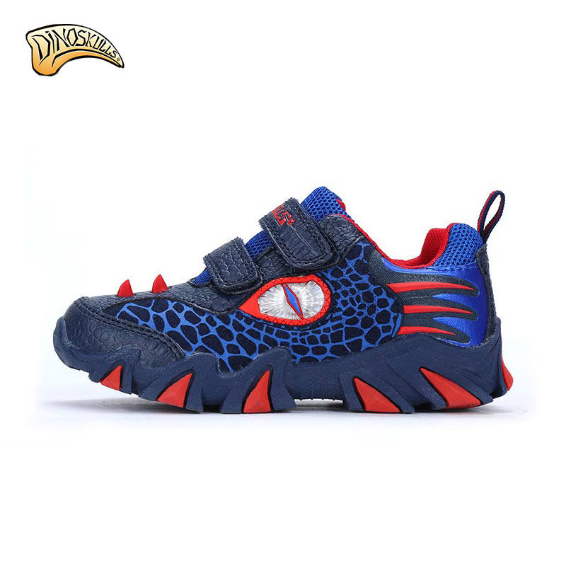 2017 Spring and Autumn new Fashion kids shoes boys sneakers children Cartoon dinosaur sports shoes child casual shoes  AS176<br>