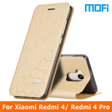 Buy xiaomi redmi 4 4x case Original Mofi Brand xiaomi redmi 4 pro case Flip leather cover + TPU soft case xiaomi redmi4 case 5.0 for $10.99 in AliExpress store