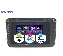 2din vw car dvd radio RNS510 android 6.0 For Golf 5 6 Jetta Mk5 Mk6 skoda Passat CC Tiguan polo Eos  3G 4Gwifi bluetooth
