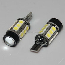2 X T10 194 W5W White 1.5W + 15 5050 SMD LED Backup Light Bulbs PROJECTOR LENS CREE For VW Toyota Ford Mazda Free Shipping(China)