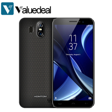 "HOMTOM S16 Android 7.0 OS MTK6580 Ouad Core 5.5"" HD 2GB RAM 16GB ROM 3000mAh Dual Sim Mobile Phone(China)"
