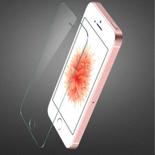 Premium 0.3mm 9H 5 5S SE Tempered Glass Luxury Explosion Proof Film Screen Protector Toughened Membrane for iphone 5 5s