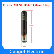 Best Price Blank MINI ID4C Glass Chip (Smaller Size) ID 4C ID4C Chip 10pcs/lot Free Shipping