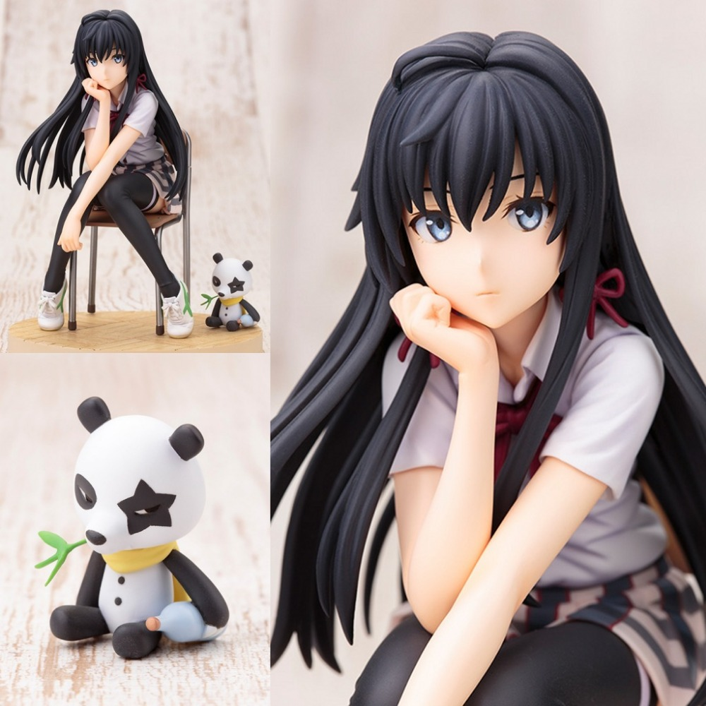 6 Anime My Teen Romantic Comedy SNAFU Yukinoshita Yukino Boxed 14cm PVC Action Figure Collection Model Doll Toy<br><br>Aliexpress