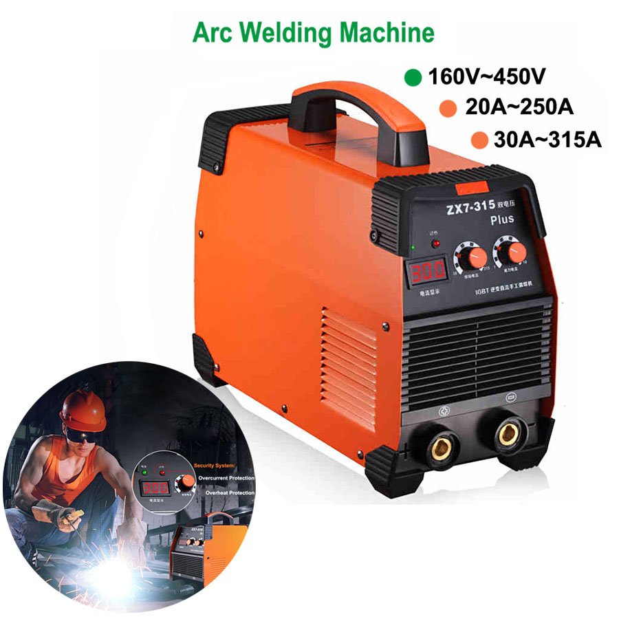 160-450V 20-315A Flagship IGBT Inverter Portable Arc Welder Equipment Electric Welding Machine ZX7-250 315(China (Mainland))