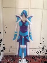 DOTA 2 Crystal Maiden CM Rylai Crestfall Cosplay Costume Anime Custom Made Uniform Version 2