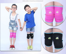 High quality Kids Ski Sports Kneepads Baby Crawling Safety Children Dance Knee Support Sports Knee Pads 2pcs/lot(China)