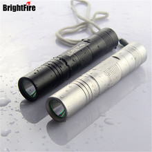 Hot Selling Portable Mini LED Flashlight 5 Mode Adjustable 100% Waterproof Torch Light 2 Colors