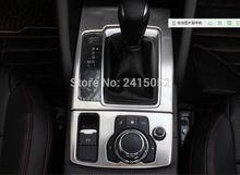 Gear boxes automotive interior decoration benches decorative stamps with panel accent bar 2014-2015 for Mazda CX-5