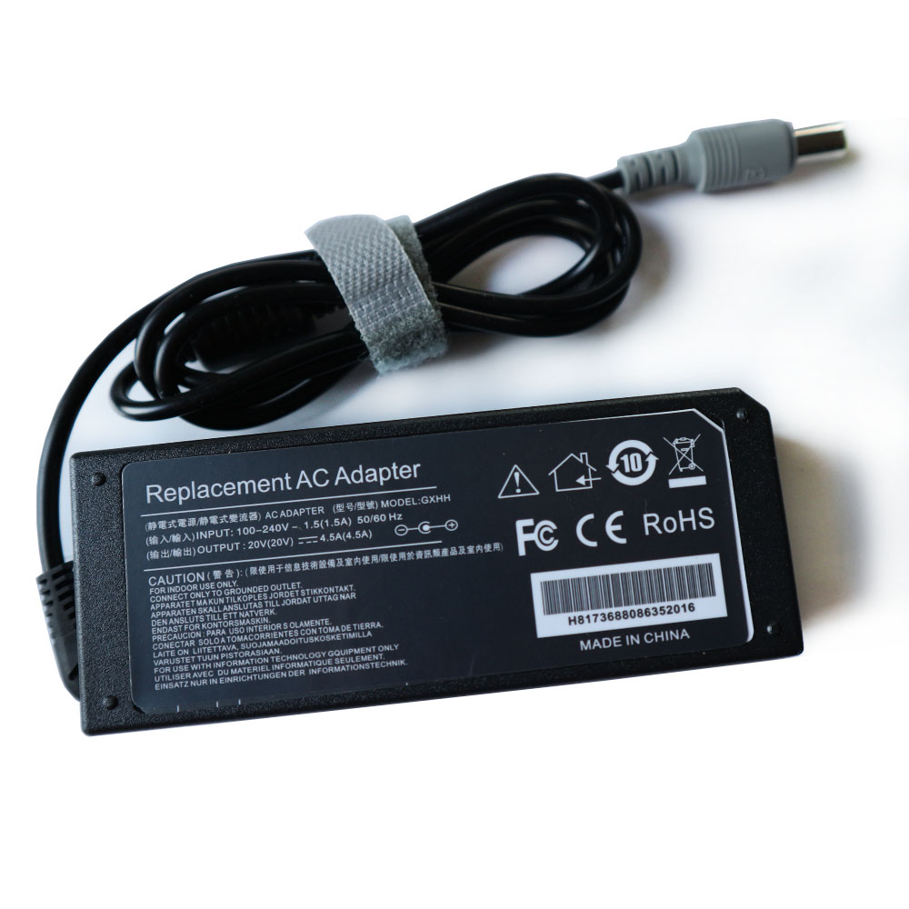 20v 4.5a 7.9mm*5.5mm Ac Power Laptop Adapter Charger Supply For Lenovo Ibm Thinkpad R61 R61e T60 T61 X61 Sl400 X200 T410 Laptop Accessories