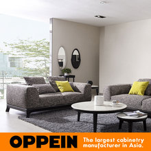 Modern Fabric Sectional Sofa in Light Grey WS-TM160003(China)