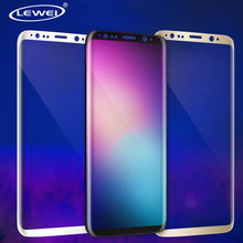 LEWEI 3D Curved Full Cover Flex Soft PET TPU Screen Protector Film For Samsung Galaxy S8 S8 Plus(China)