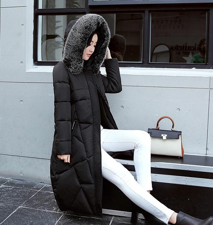 2017 Winter Women Coat Thicken Warm Long Jacket women coat girls long slim big coat jacket Down Parka+26 (1)