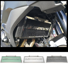 Black For Kawasaki VERSYS 650 Versys650 Motorccycle Stainless Steel Radiator Grille Guard Cover Protector High Quality