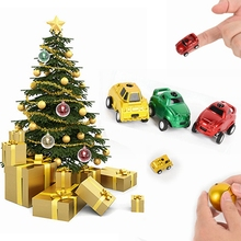 1 piece Christmas ball plastic Mini Speed RC Radio Remote Control Racing Car Toy New(China)