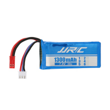 Original JJRC X1-011 7.4V 1300mAh 30C LiPo Battery 2S with JST Plug for JJRC X1 and X1G RC Quadcopter Drones Spare RC Part