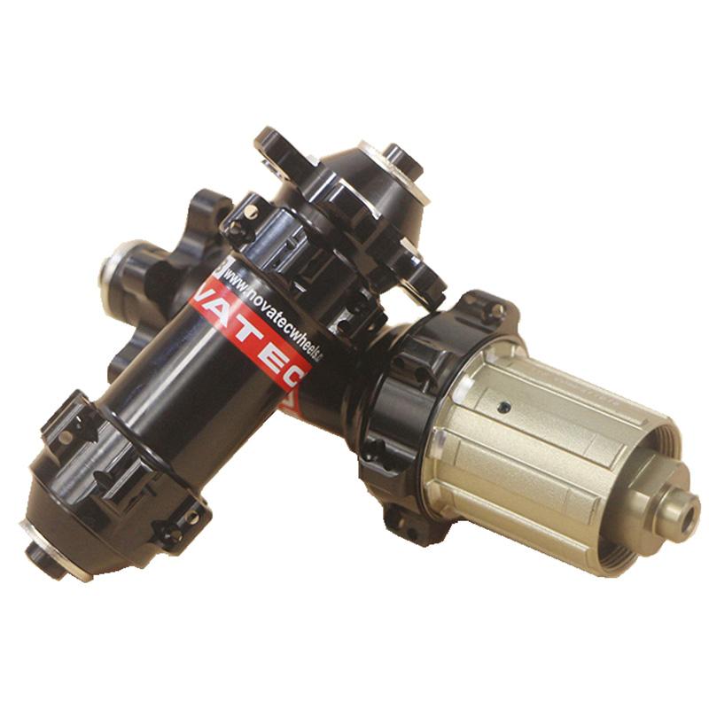 MTB-Road-Bicycle-Straight-Pull-NOVATEC-411-412-Aluminum-road-disc-brake-Hub-TPI-bearing-Standard