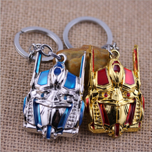 BERTHATINA New Arrival 2015 Transformation Autobot Optimus Prime Metal Keychain Pendant Key Chains(China)