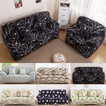 Universal Stretch Sofa Covers Furniture Protector Polyester Modern Loveseat Couch Cover Sofa Towel 1/2/3/4-seater For Sofa