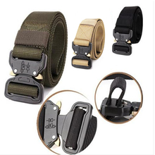 Buy Hot Tactical Gear Heavy Duty Belt Cobra Military Nylon Metal Buckle Patrol Waist Belt Tactical Hunting Ceintures Accessories Q4 for $8.18 in AliExpress store