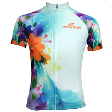 2017 Women's Cycling Jersey New Design Sports Wear Breathable Summer Cycling Clothing Cycling Shirts in Free Shipping(China)