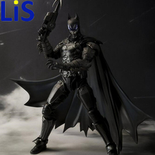 Lis Hot ! NEW 17cm Justice league batman mobile action figure toys Christmas doll toy S104(China)