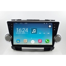 ChoGath(TM) 10.2'' 1.6GHz Quad Core RAM 1G Android 6.1 Car Navigation GPS Player for Toyota Highlander 2008-2012 without Canbus