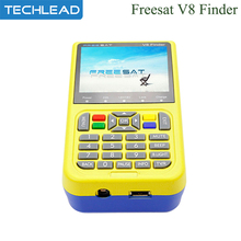 Genuine Freesat V8 digital Satellite finder Full HD 3.5inch LCD display TV satellite signal search device DVB-S/S2 MPEG 1GB