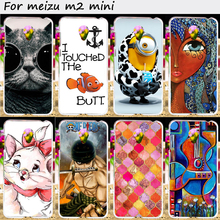 Plastic and Soft TPU Phone Cover For Meizu M2 Mini Meilan 2 Dual SIM 4G LTE Meilan2 Cases Wholesale and Retail Cell Phone Bags