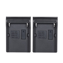 Andoer 2pcs DMW-BLF19E Battery Plate for Neweer Andoer Dual/Four Channel Battery Charger for Panasonic Lumix Nikon Sony Canon(China)