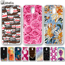 AKABEILA Soft Plastic Cases For HTC Desire 526 326 526G Covers 526G+ 326G Covers Rose Flower Butterfly Skin Silicone Bags Back(China)