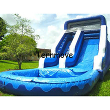 inflatable water slide playground Bouncy Castle Bouncer Inflatable Castle Kids Baby ,Inflatable trampolin jumping bed(China)