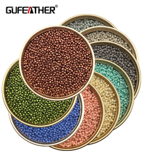 GUFEATHER Z86/2MM Beads/jewelry accessories/charms/beads for jewelry making/diy beads/diy accessories 20g/bag(China)