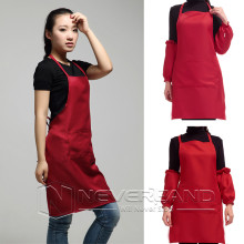 Woman Chefs Apron Simple Elegant Butchers Kitchen Cooks Restaurant BBQ School Double POCKETS Cooking Clean kitchen Couple Aprons