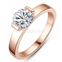 Charles&Colvard Brand new original 1 carat 925 sterling silver female ring 18k gold ring moissanite ring