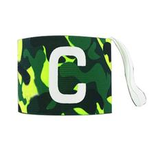 MaxKare Football Soccer Captain Armband Adhesive Player Band Flexible Sports Adjustable Bands Fluorescent Captain Armband(China)